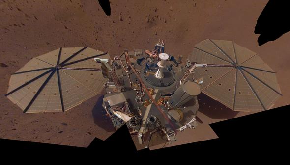 NASA's InSight Lander Reveals New Details of Martian Quakes and Magnetism