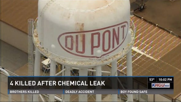 4 Workers Killed at DuPont Chemical Plant