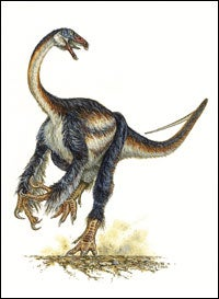 New Dinosaur Documents Shift from Meat to Veggie Diet