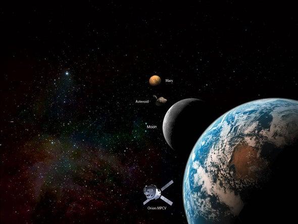 Red Planet versus Dead Planet: Scientists Debate Next Destination for Astronauts in Space