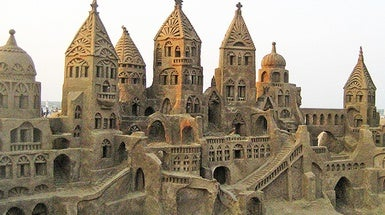 How to Build the Perfect Sandcastle--According to Science - Scientific American