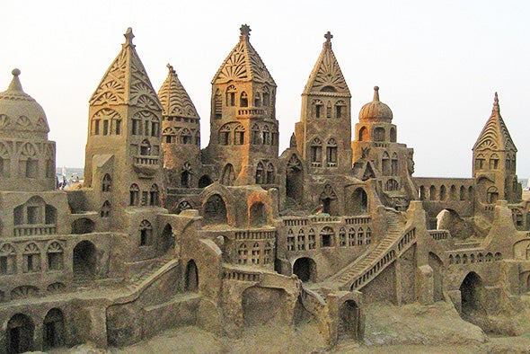 How to Build the Perfect Sandcastle--According to Science