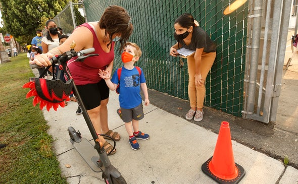 Masks Protect Schoolkids from COVID despite What Antiscience Politicians Claim