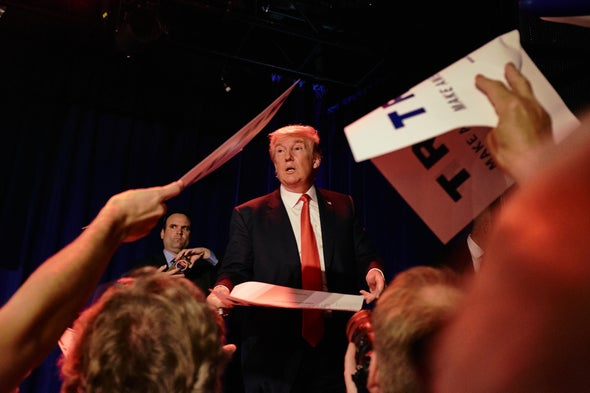 Donald Trump's Presidential Election Win Stuns Scientists
