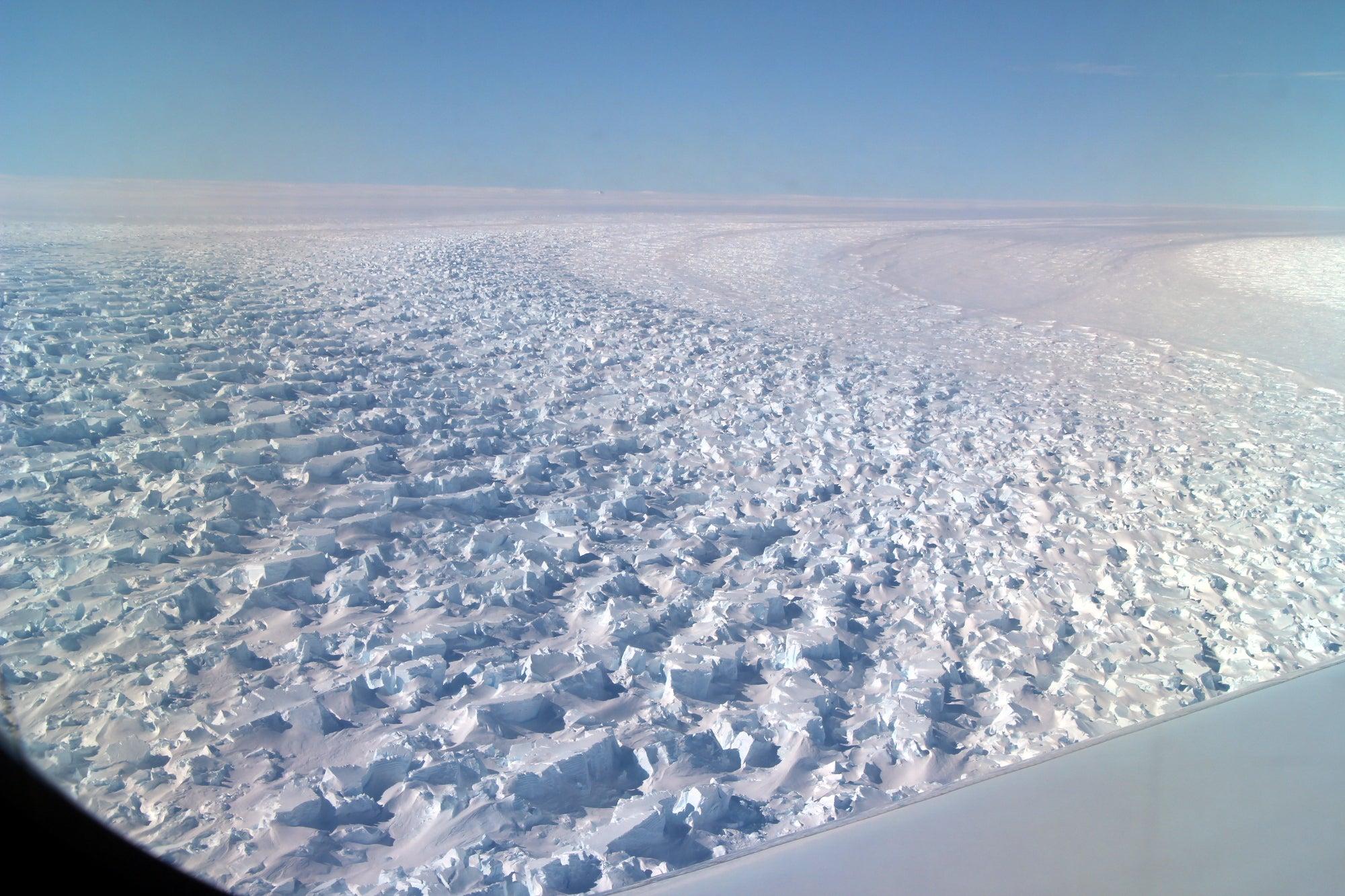 Antarctic Glacier Has Retreated 3 Miles in 22 Years