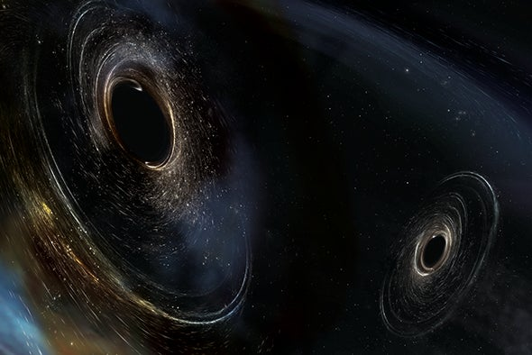 LIGO's Latest Black-Hole Merger Confirms Einstein, Challenges Astrophysics