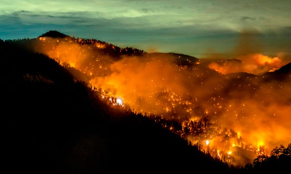 Climate Change Is Central to California's Wildfires