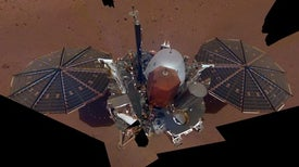 NASA's InSight Mars Lander Snaps Selfie, Surveys Workspace