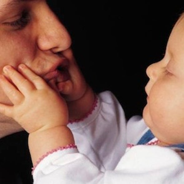 Smaller Testicles Linked to Caring Fathers