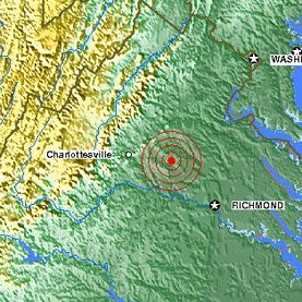 The East Coast Earthquake in Pictures [Slide Show]