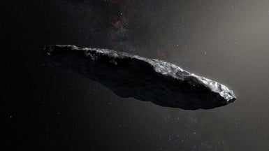 Alien Probe or Galactic Driftwood? SETI Tunes In to 'Oumuamua