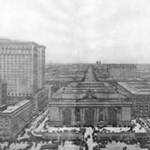 PANORAMA OF THE GRAND CENTRAL TERMINAL, NEW YORK, 1912: