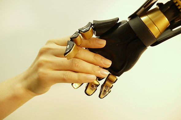 Artificial Skin Sends Touching Signals to Nerve Cells