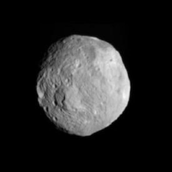 NASA Spacecraft Enters Orbit around Asteroid Vesta--A Space First