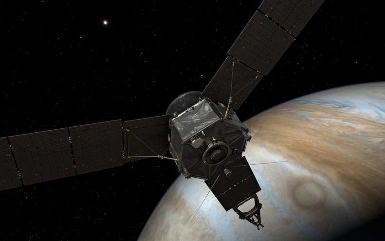 Juno Faces Moment of Truth at Jupiter