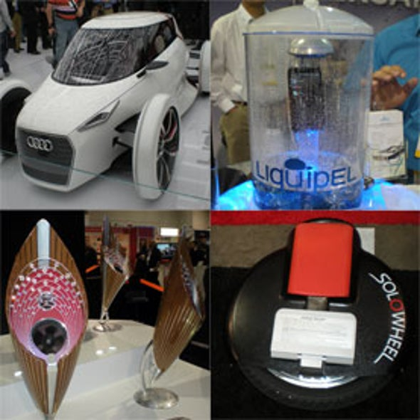 <i>Scientific American</i> Presents the 2012 Consumer Electronics Show (CES) [Slide Show]