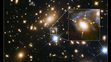 Scientists See Same Star Explode 4 Times