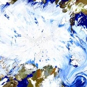 Arctic Melting, July 2016 (after NASA).