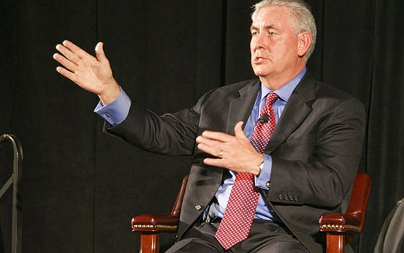 The Climate Impacts of Trump's Exxon Pick for Secretary of State