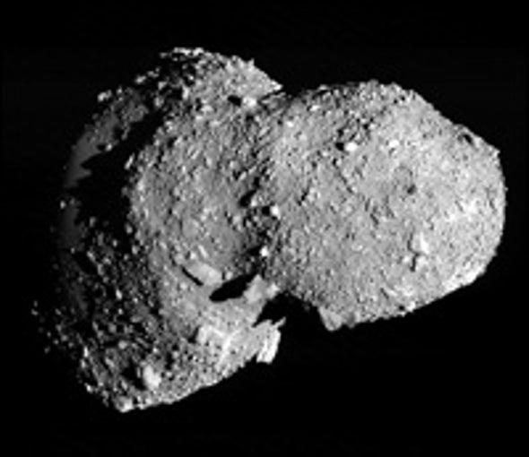 Whole Lotta Shakin' on Asteroid Itokawa