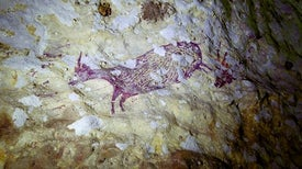 Is This Indonesian Cave Painting the Earliest Portrayal of a Mythical Story?