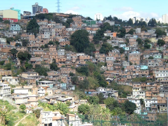 City View: Luxury Hotels Meet Shacks in Hilly Brazilian City