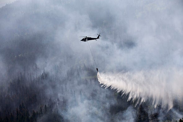 Drying Soils in Alaska Could Add to Wildlfire Concerns
