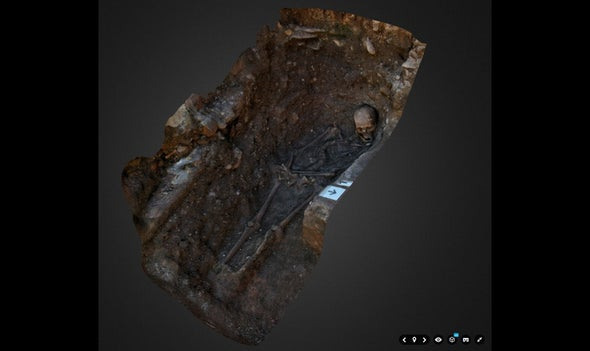 A New 3-D View of Richard III's Humble Grave