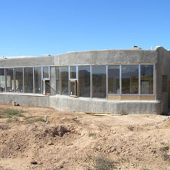 Home Sweet Earthship: Building a Self-Sufficient Bio-House from Old Tires and Recycled Cans