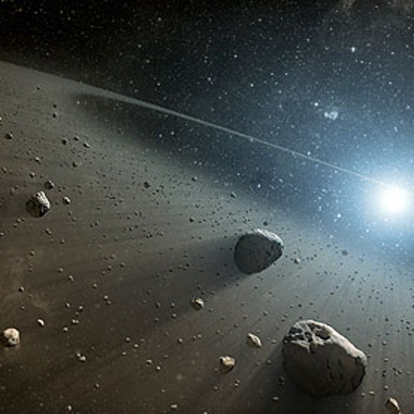 Astronomers Surprised by Large Space Rock Less Dense Than Water