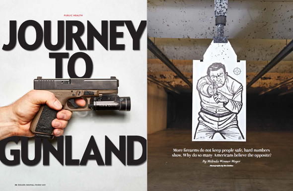 More Guns Mean More Violent Crime--or Less? A Researcher Aims at <i>Scientific American</i>