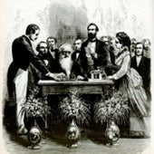 Samuel Morse at the Morse Celebration, 1871