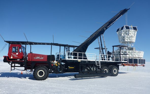 Bizarre Particles Keep Flying out of Antarctica's Ice, and They Might Shatter Modern Physics