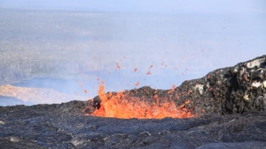 More than One Magma Chamber Found to Feed Hawaii's Kilauea Volcano