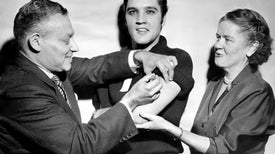 How Elvis Got Americans to Accept the Polio Vaccine