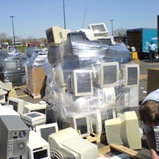 One Person's Trash Is Another's Technology: Recycling or Donating Discarded Electronic Equipment Help Reduce E-Waste Pollution
