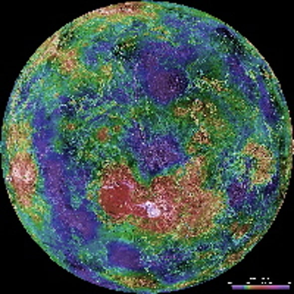 Double Impact May Explain Why Venus Has No Moon