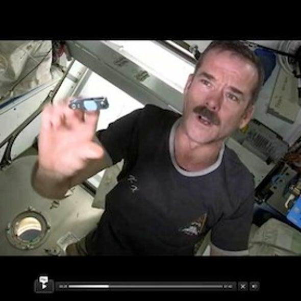 Astronauts Reveal the Secret of Zero-G Fingernail Clipping