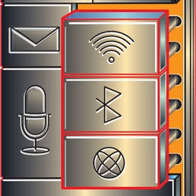 cell phone symbols