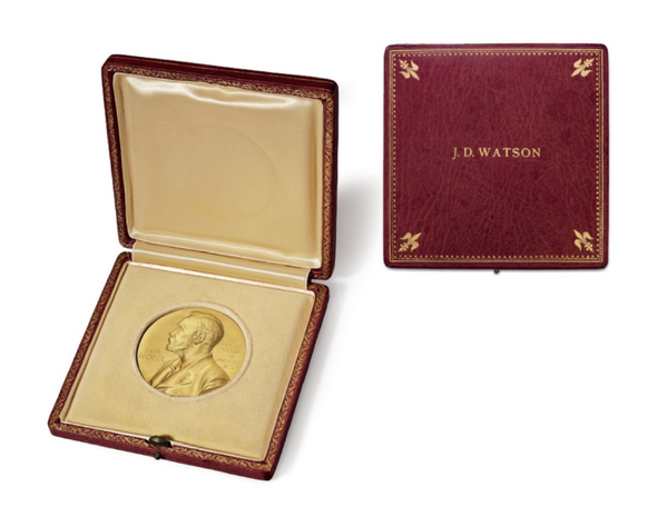 Jim Watson's Nobel Prize Could Be Yours...for Just $3.5 Million