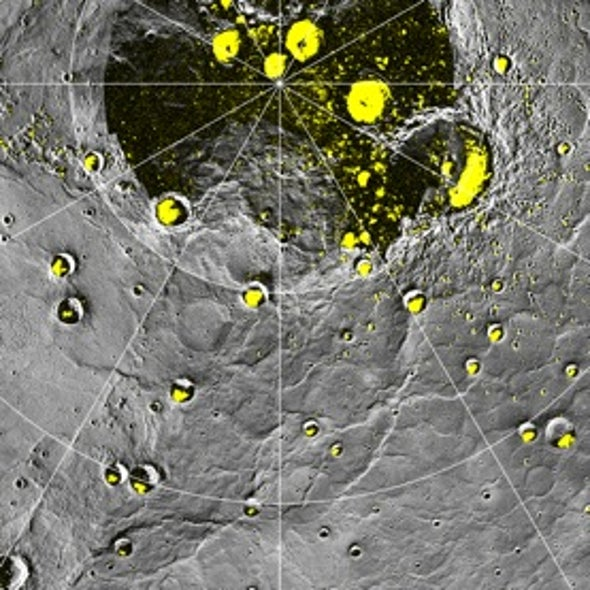 New Maps of Mercury Show Icy Looking Craters on the Solar System's Innermost Planet