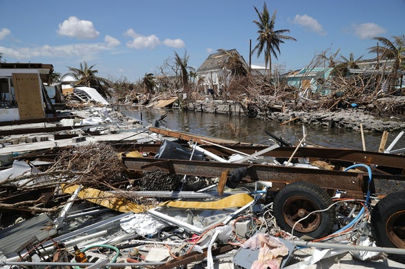 Why do hurricanes hit the East Coast of the U.S. but never the West Coast?