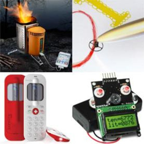 <i>Scientific American</i>'s 2012 Gadget Guide: Tech That Will Satisfy Your Inner Geek [Slide Show]