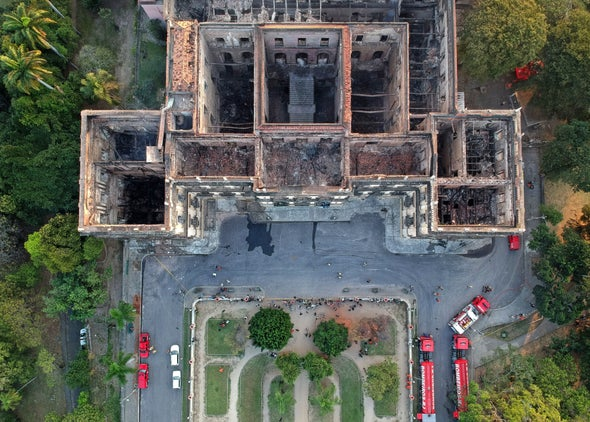 Museum Digs Out a Future from Charred Scientific Ruins