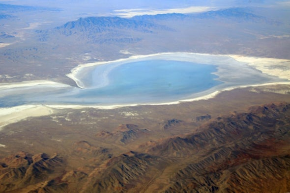 Desert Basins May Hold Missing Carbon Sinks