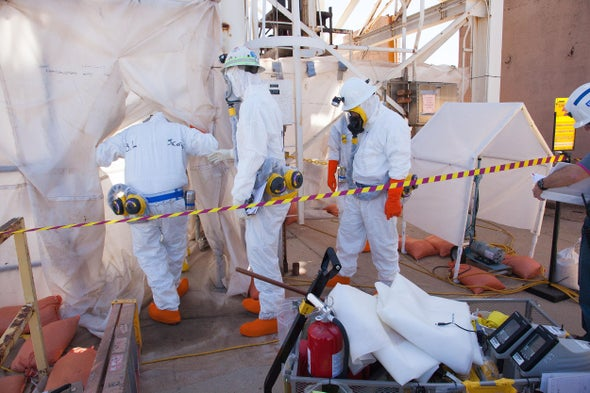 Nuclear Weapons Site Alarms Shut Off, Scientists Inhale Uranium