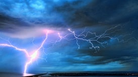 Lightning Linked to Solar Wind
