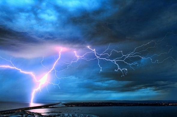 Lightning Linked to Solar Wind