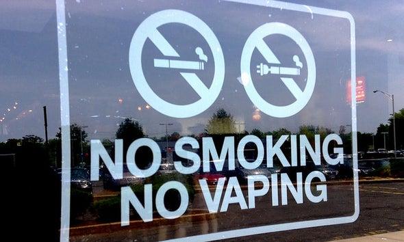 California's Anti-Vaping Bill Goes Up in Smoke