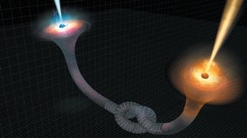 Entangled Wormholes Could Pave the Way for Quantum Gravity